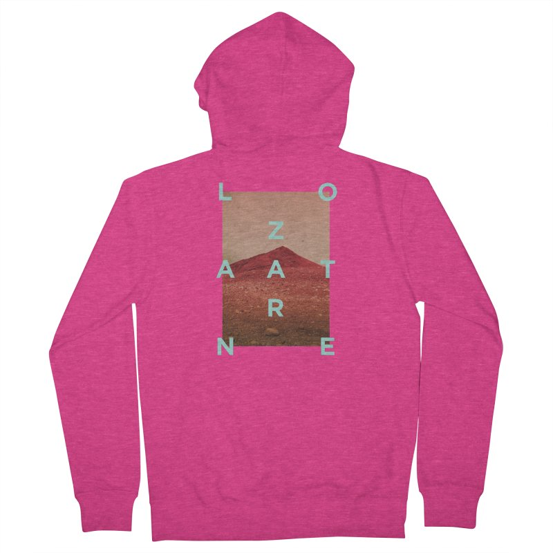 Lanzarote Canarian Island Women's French Terry Zip-Up Hoody by virbia's Artist Shop