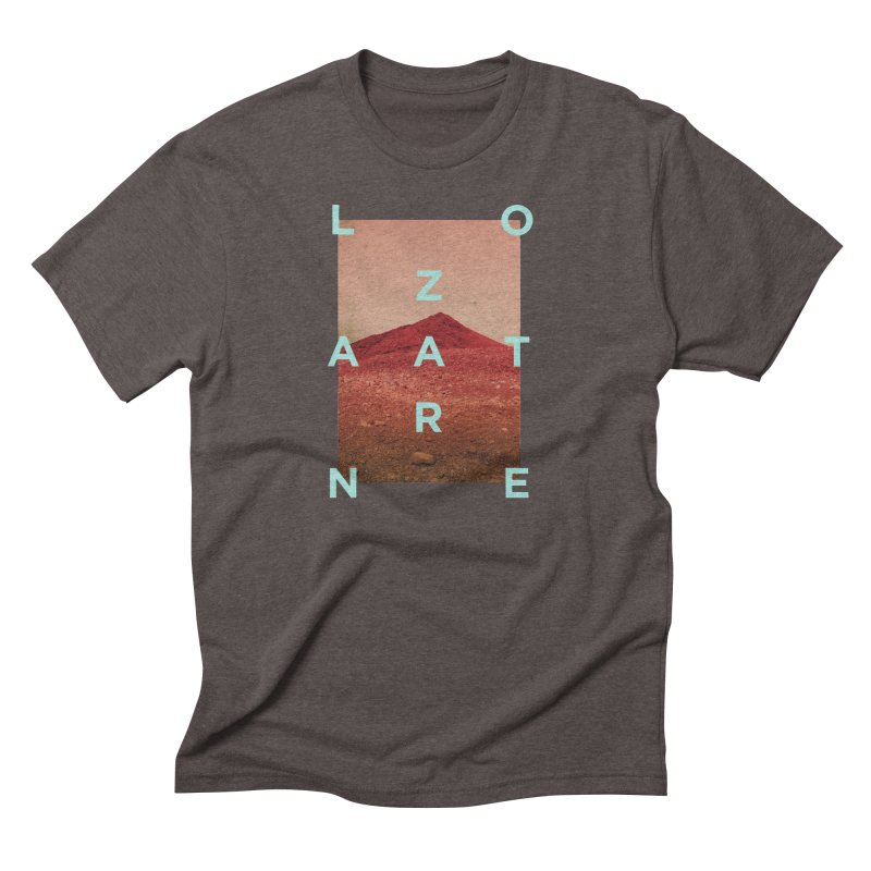 Lanzarote Canarian Island Men's Triblend T-Shirt by virbia's Artist Shop