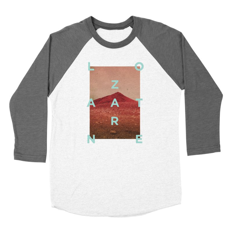 Lanzarote Canarian Island Men's Baseball Triblend Longsleeve T-Shirt by virbia's Artist Shop