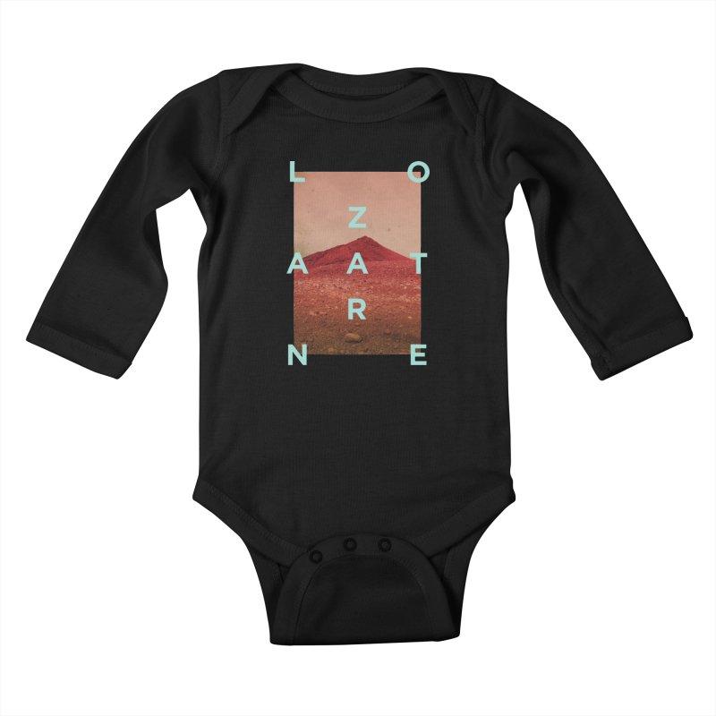 Lanzarote Canarian Island Kids Baby Longsleeve Bodysuit by virbia's Artist Shop