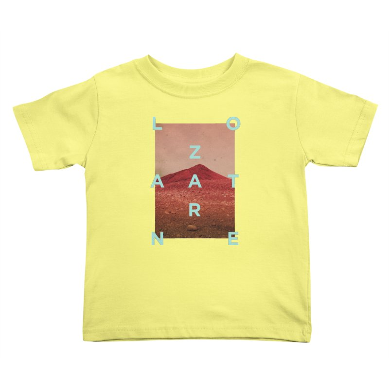 Lanzarote Canarian Island Kids Toddler T-Shirt by virbia's Artist Shop