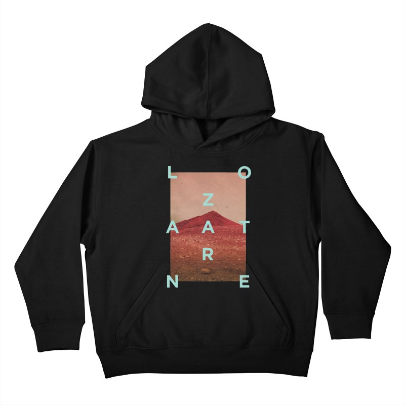 Lanzarote Canarian Island Kids Pullover Hoody by virbia's Artist Shop
