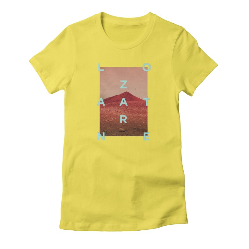 Lanzarote Canarian Island Women's T-Shirt by virbia's Artist Shop