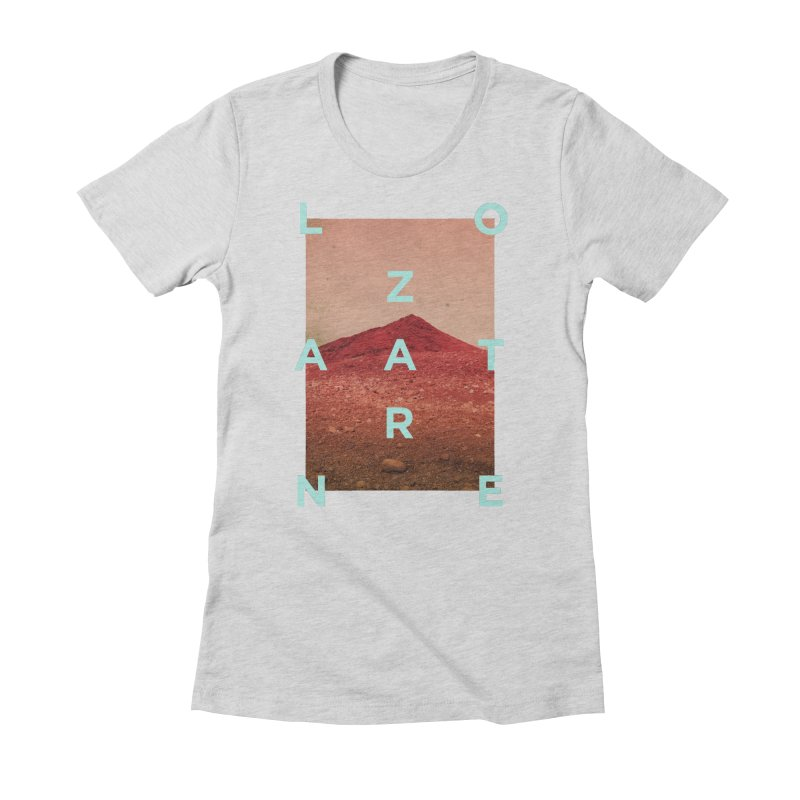 Lanzarote Canarian Island Women's Fitted T-Shirt by virbia's Artist Shop