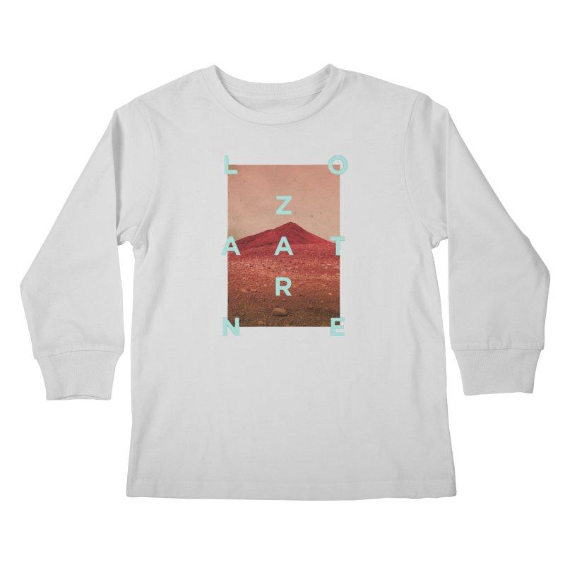 Lanzarote Canarian Island Kids Longsleeve T-Shirt by virbia's Artist Shop