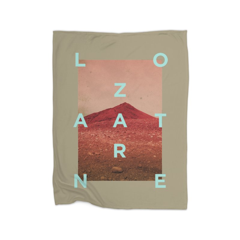 Lanzarote Canarian Island Home Blanket by virbia's Artist Shop