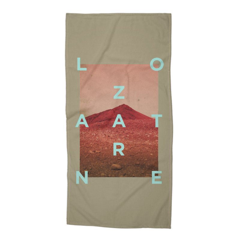Lanzarote Canarian Island Accessories Beach Towel by virbia's Artist Shop