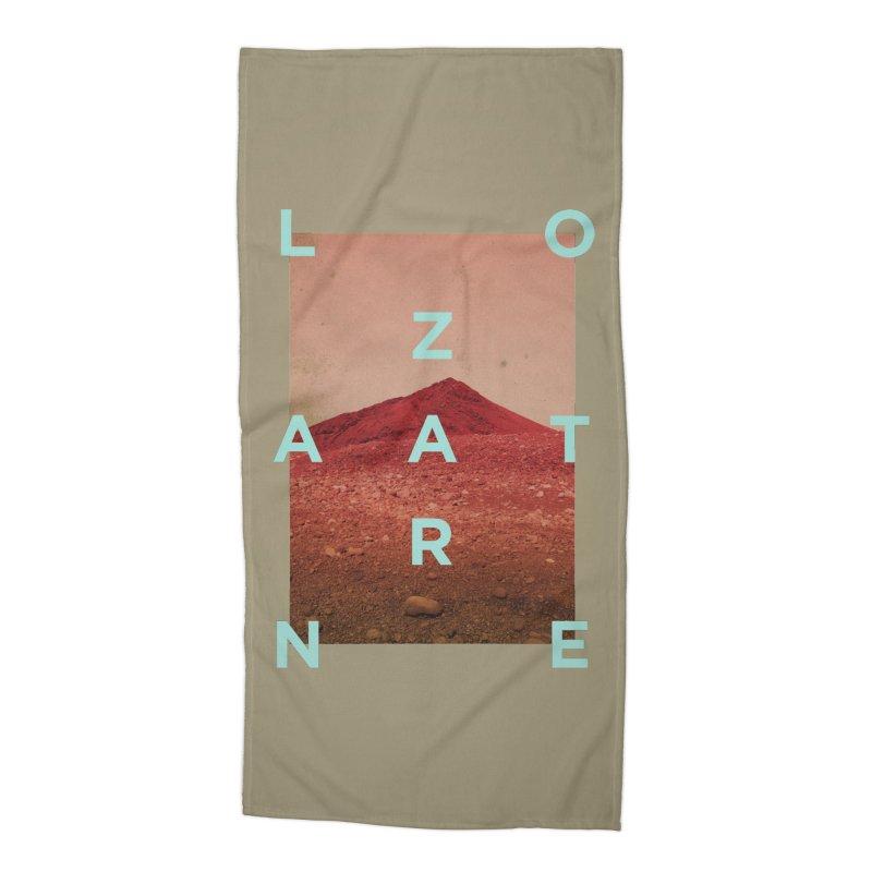 Lanzarote Canarian Island Accessories Beach Towel by virbia's Artist Shop