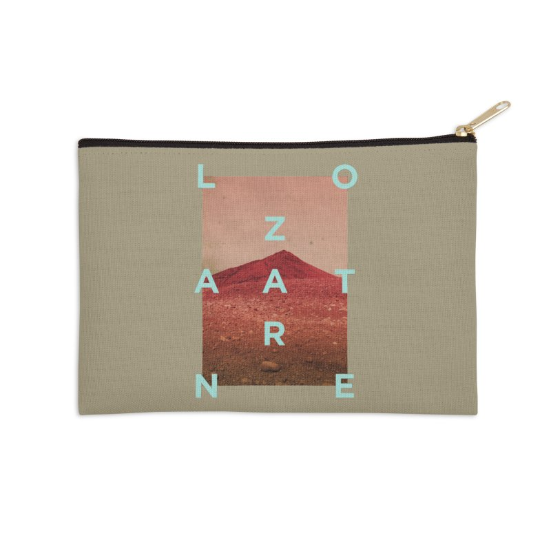 Lanzarote Canarian Island Accessories Zip Pouch by virbia's Artist Shop