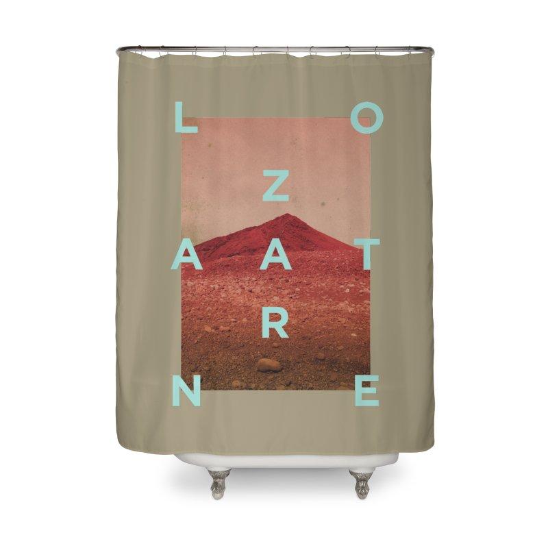 Lanzarote Canarian Island Home Shower Curtain by virbia's Artist Shop