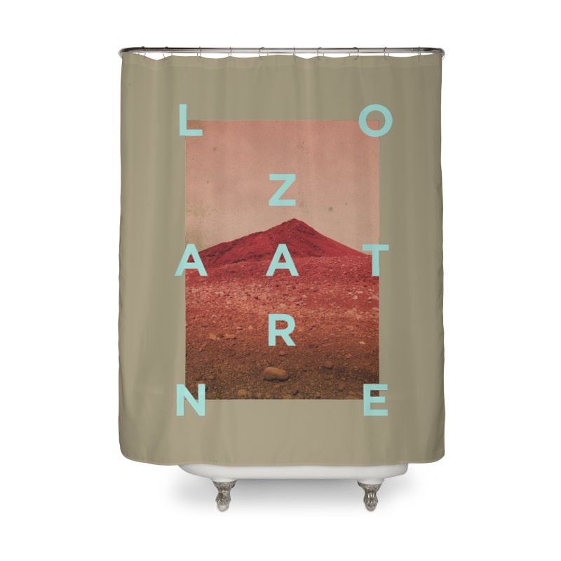 Lanzarote Canarian Island Home Shower Curtain by virbia's Artist Shop