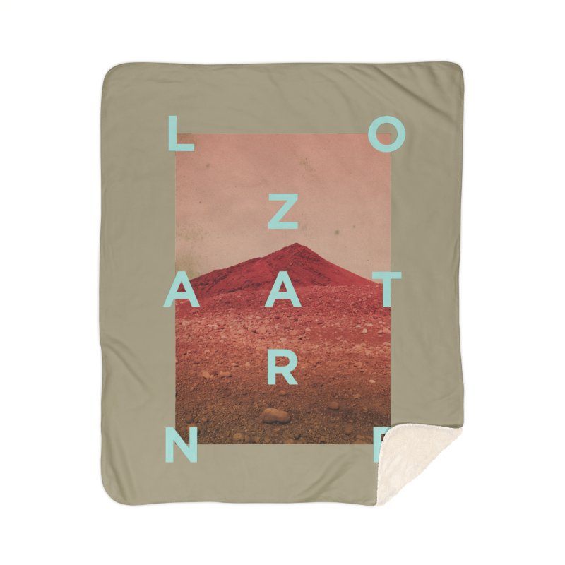 Lanzarote Canarian Island Home Sherpa Blanket Blanket by virbia's Artist Shop