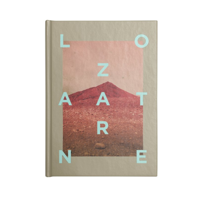 Lanzarote Canarian Island Accessories Lined Journal Notebook by virbia's Artist Shop