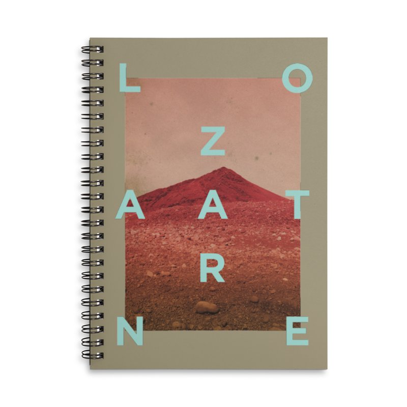 Lanzarote Canarian Island Accessories Lined Spiral Notebook by virbia's Artist Shop
