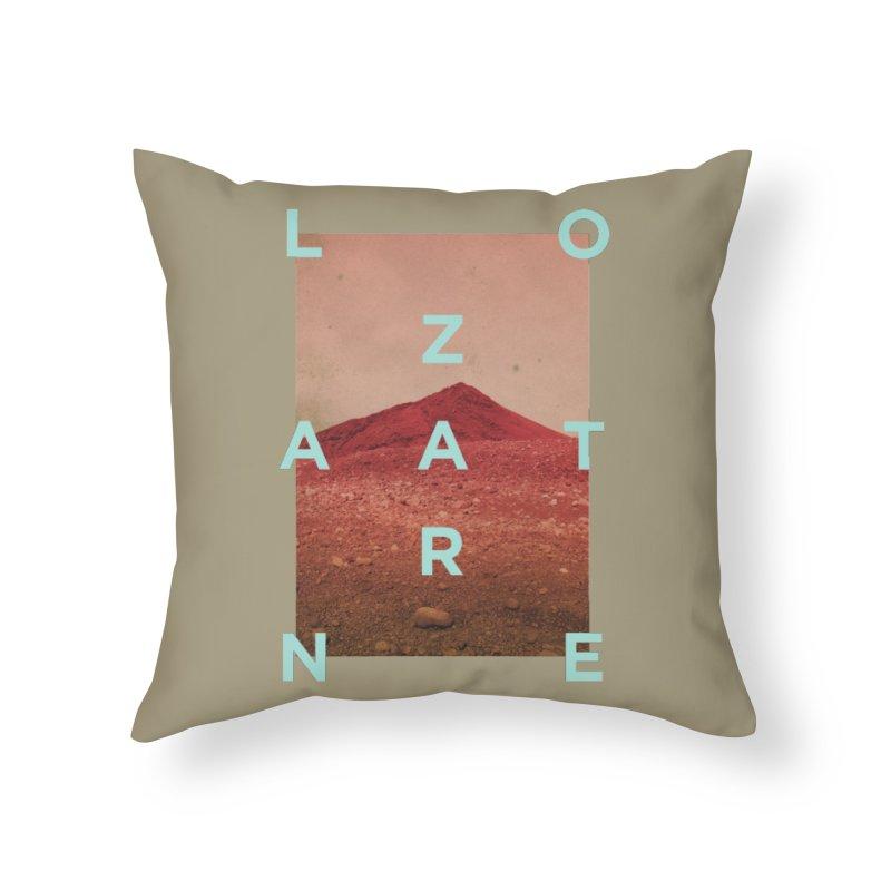 Lanzarote Canarian Island Home Throw Pillow by virbia's Artist Shop