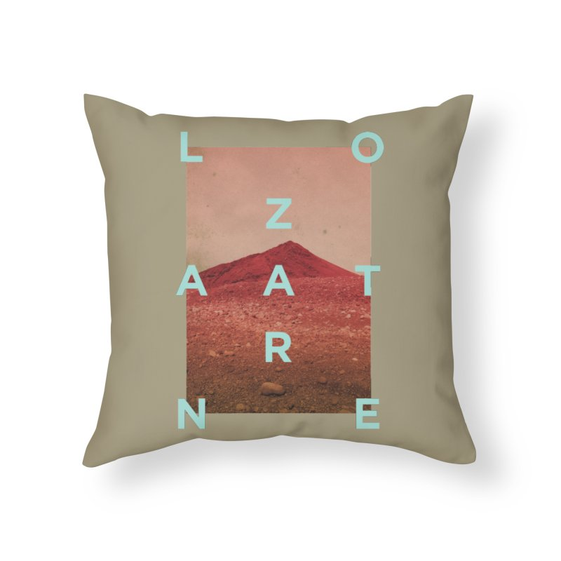 Lanzarote Canarian Island Home Throw Pillow by virbia's Artist Shop
