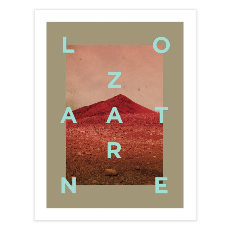 Lanzarote Canarian Island Home Fine Art Print by virbia's Artist Shop