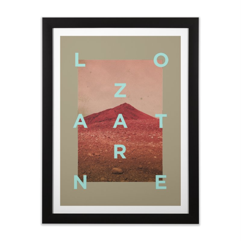 Lanzarote Canarian Island Home Framed Fine Art Print by virbia's Artist Shop