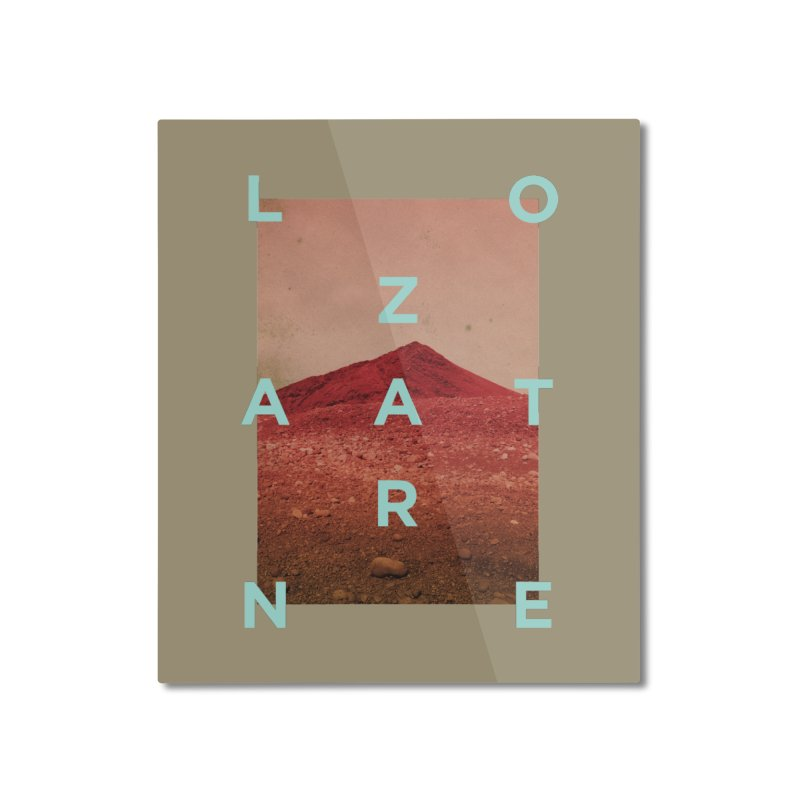 Lanzarote Canarian Island Home Mounted Aluminum Print by virbia's Artist Shop