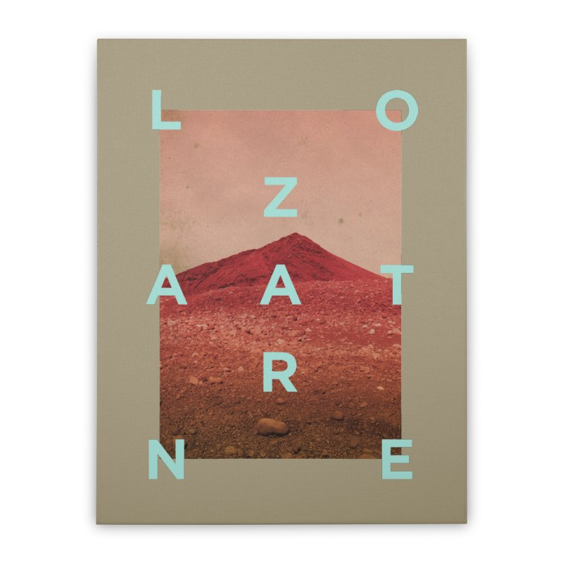 Lanzarote Canarian Island Home Stretched Canvas by virbia's Artist Shop