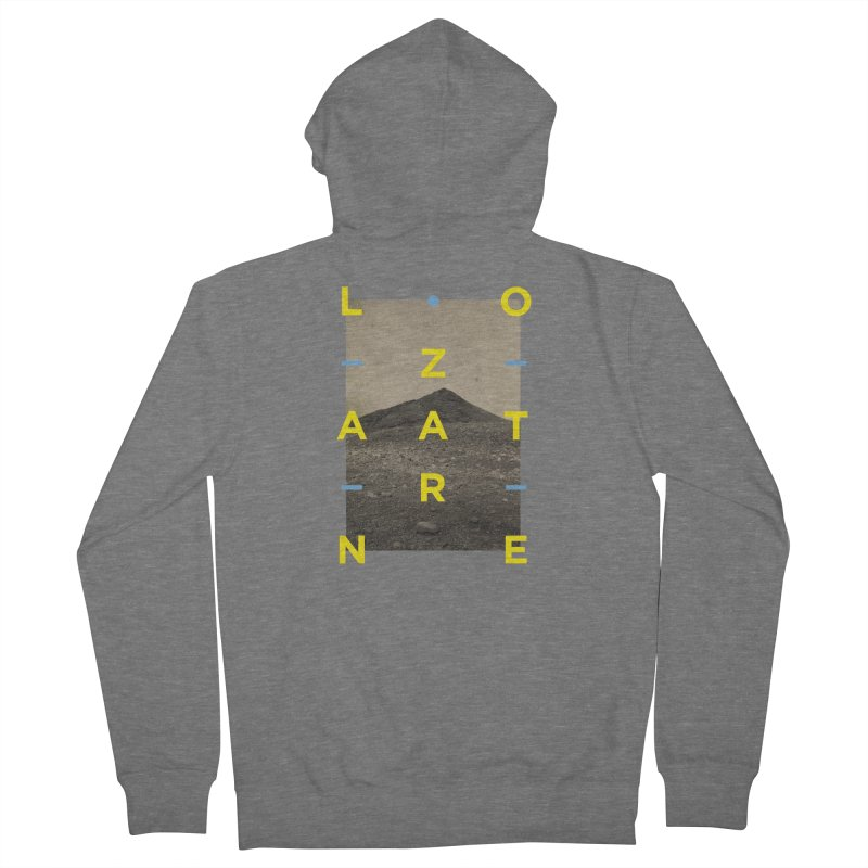 Lanzarote Canarian Island 2 Women's French Terry Zip-Up Hoody by virbia's Artist Shop