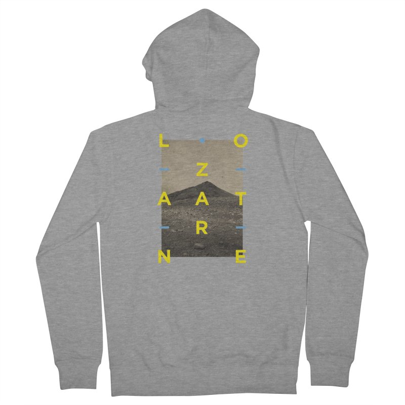 Lanzarote Canarian Island 2 Men's French Terry Zip-Up Hoody by virbia's Artist Shop