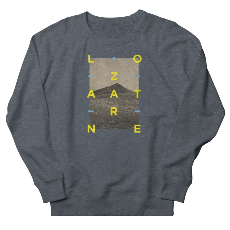 Lanzarote Canarian Island 2 Men's French Terry Sweatshirt by virbia's Artist Shop