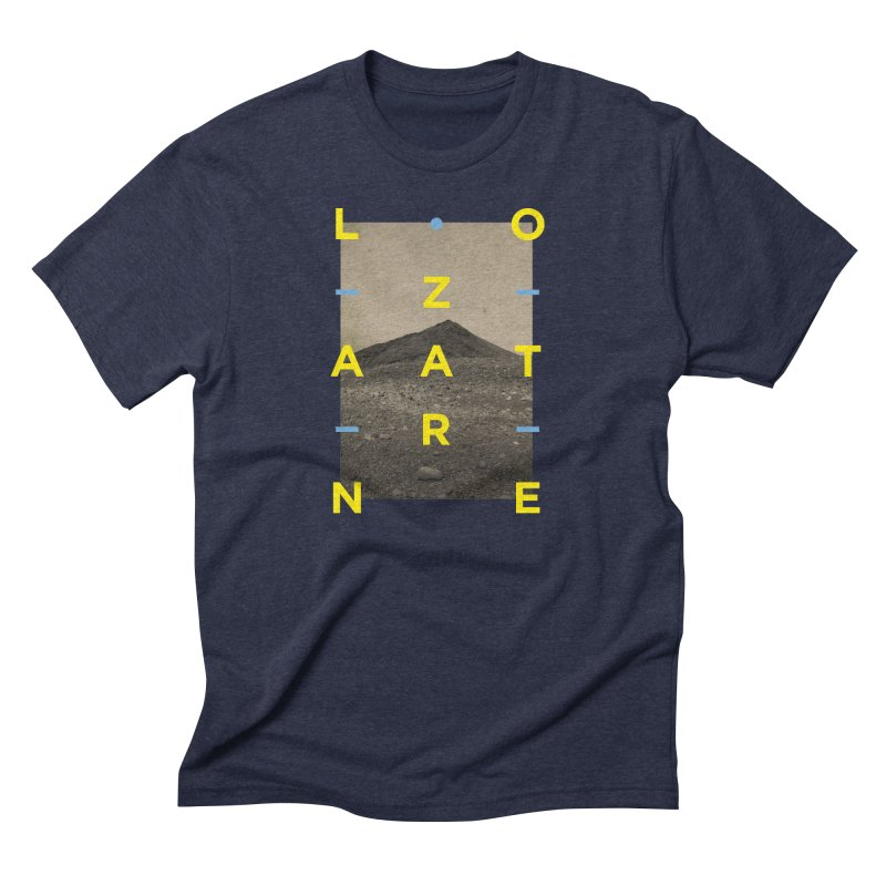 Lanzarote Canarian Island 2 Men's Triblend T-Shirt by virbia's Artist Shop