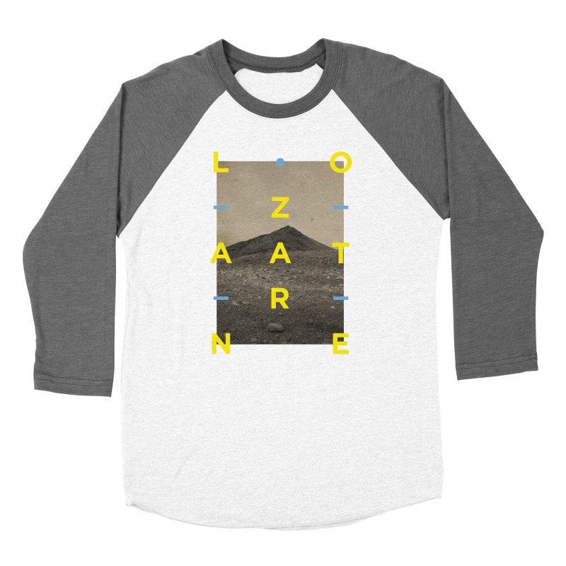 Lanzarote Canarian Island 2 Men's Baseball Triblend Longsleeve T-Shirt by virbia's Artist Shop