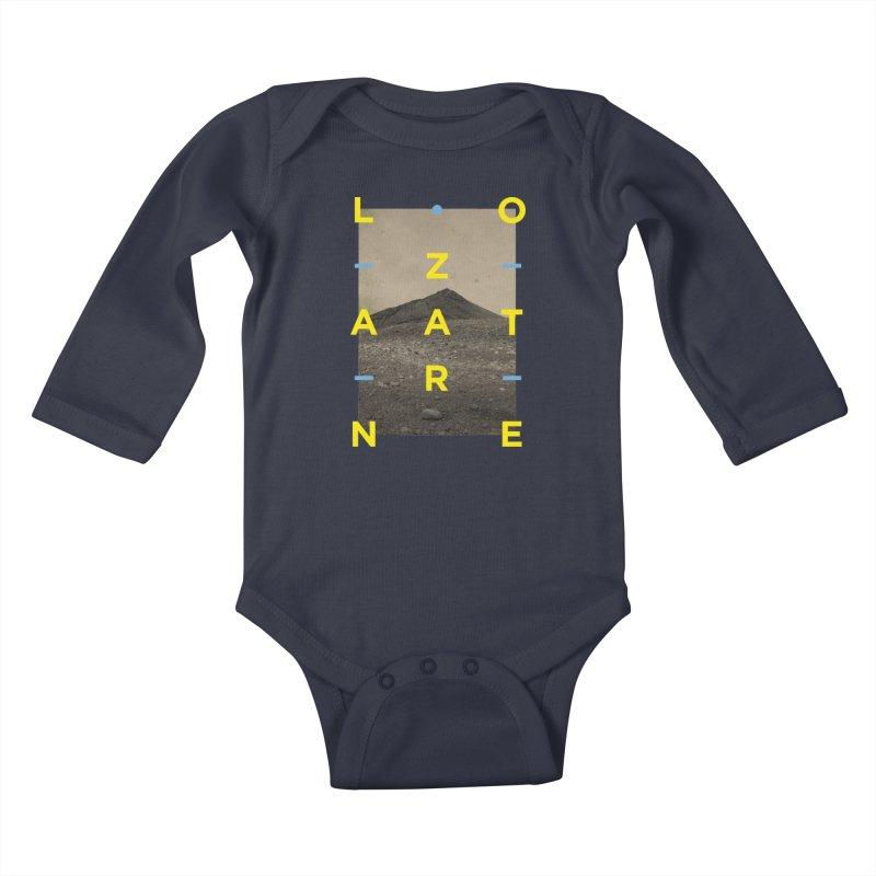 Lanzarote Canarian Island 2 Kids Baby Longsleeve Bodysuit by virbia's Artist Shop