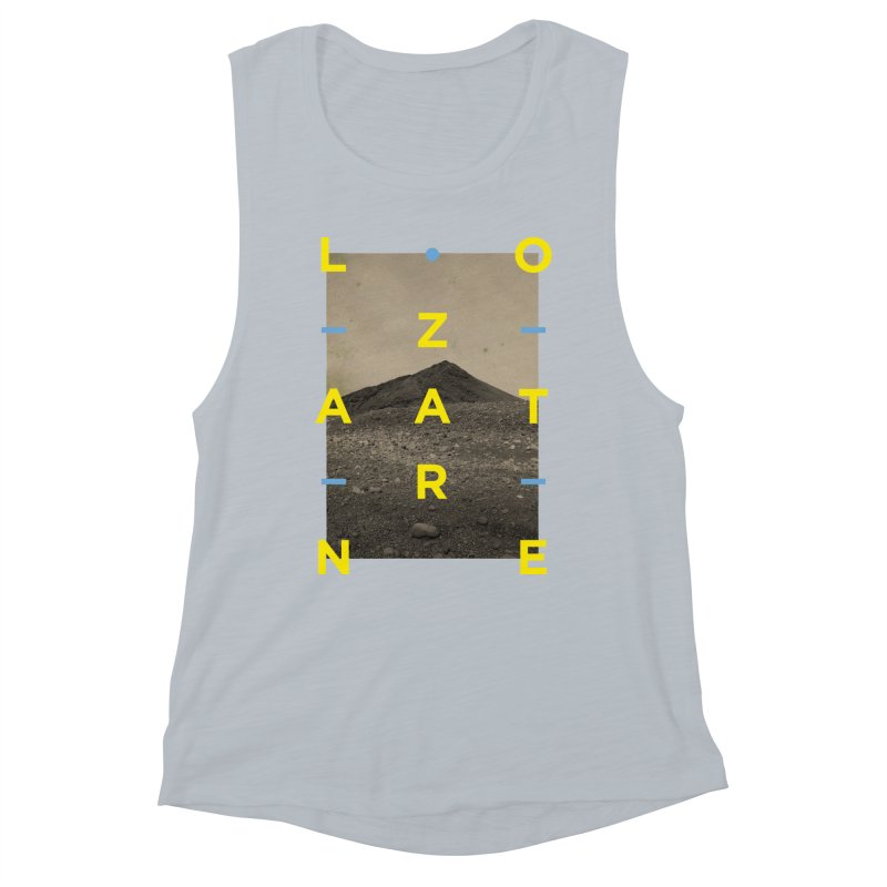 Lanzarote Canarian Island 2 Women's Muscle Tank by virbia's Artist Shop