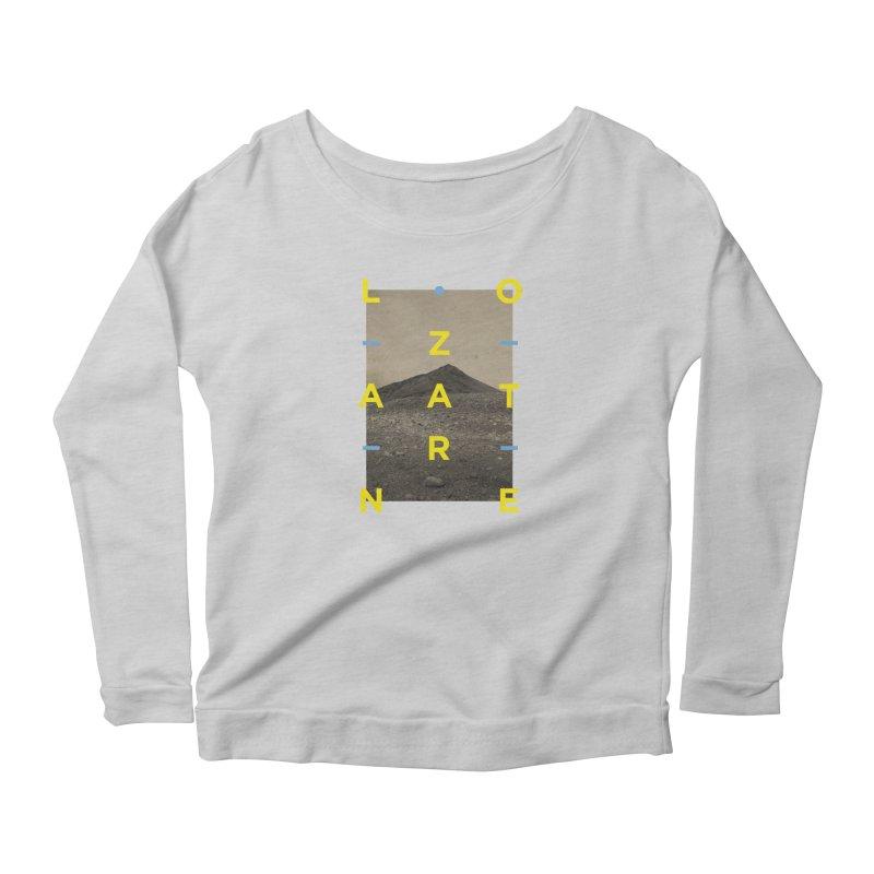 Lanzarote Canarian Island 2 Women's Scoop Neck Longsleeve T-Shirt by virbia's Artist Shop