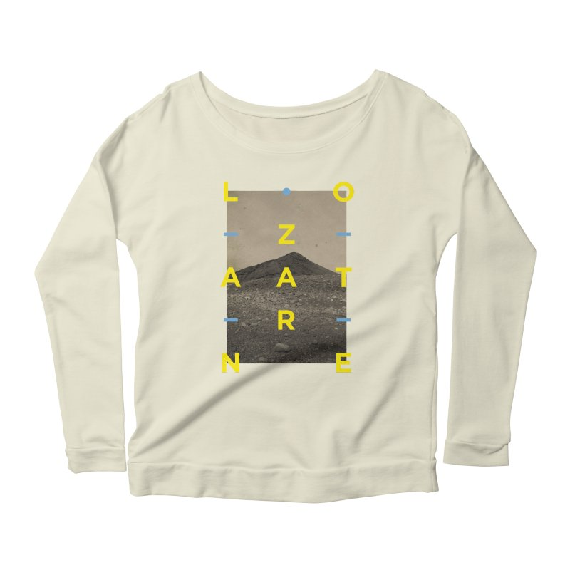Lanzarote Canarian Island 2 Women's Scoop Neck Longsleeve T-Shirt by virbia's Artist Shop