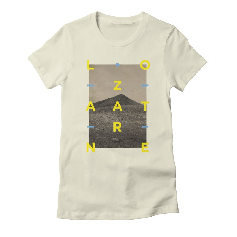 Lanzarote Canarian Island 2 Women's Fitted T-Shirt by virbia's Artist Shop