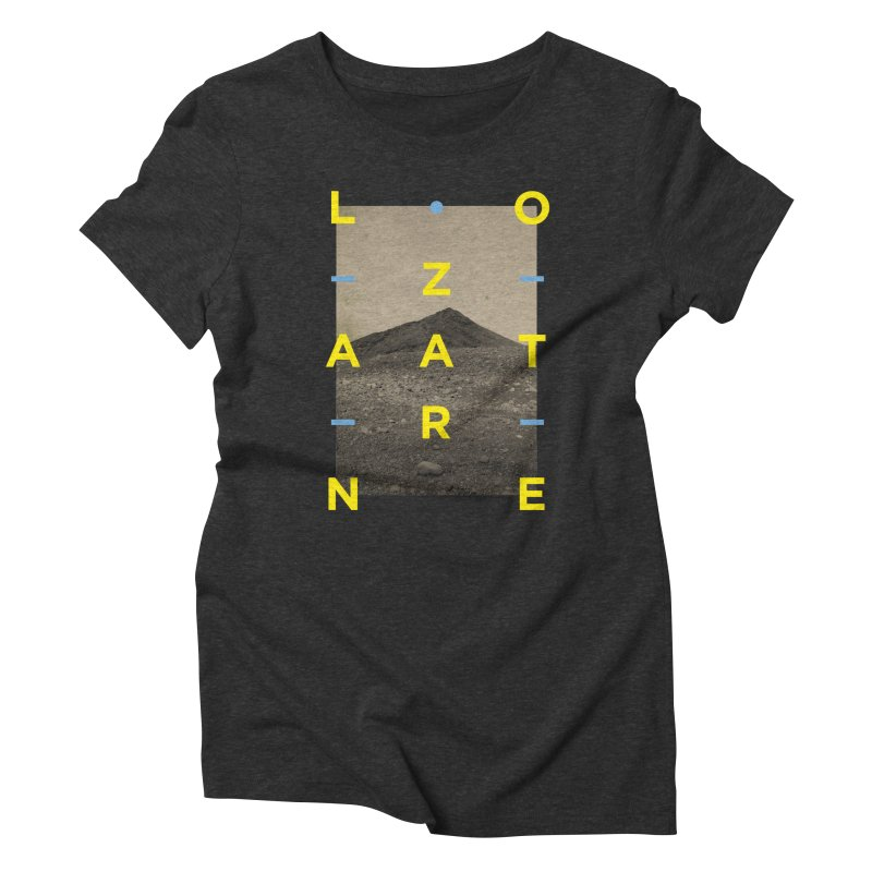Lanzarote Canarian Island 2 Women's Triblend T-Shirt by virbia's Artist Shop