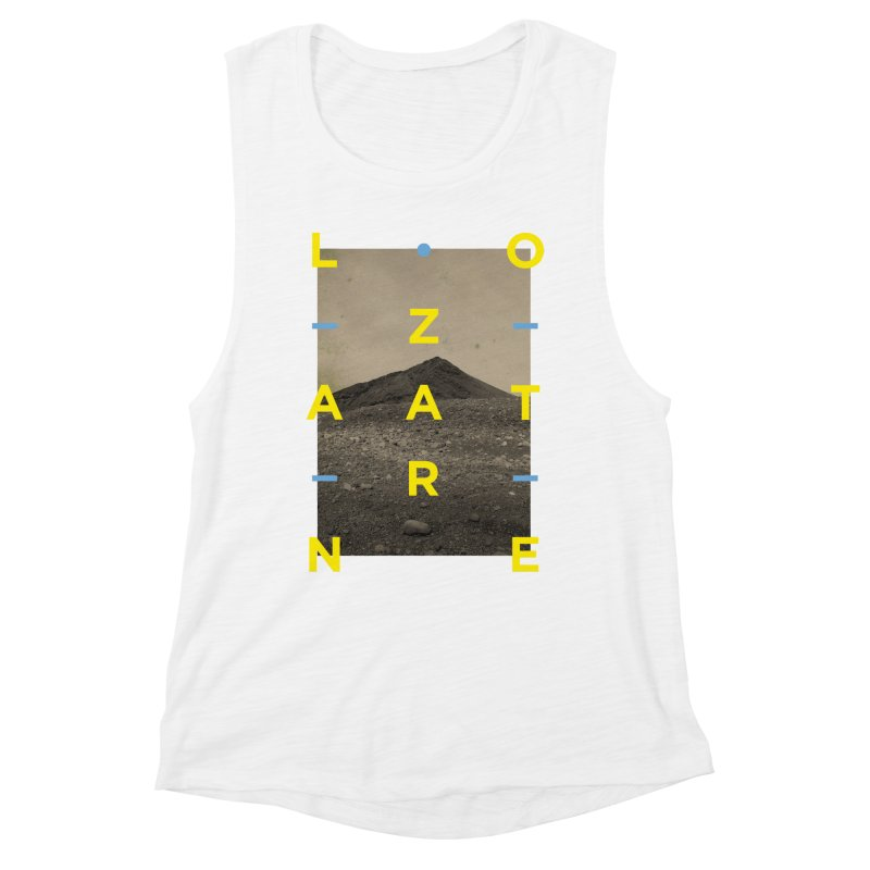 Lanzarote Canarian Island 2 Women's Muscle Tank by virbia's Artist Shop