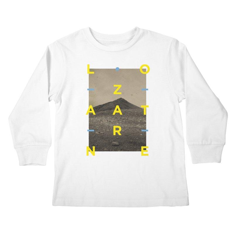 Lanzarote Canarian Island 2 Kids Longsleeve T-Shirt by virbia's Artist Shop
