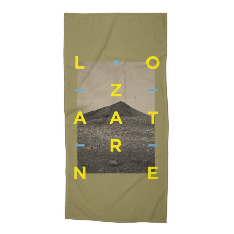Lanzarote Canarian Island 2 Accessories Beach Towel by virbia's Artist Shop