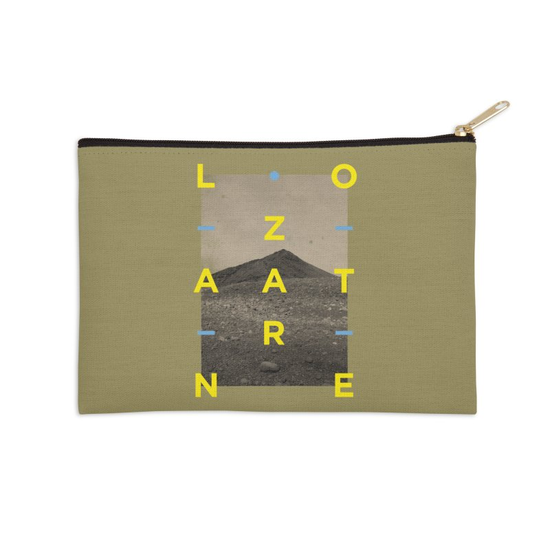 Lanzarote Canarian Island 2 Accessories Zip Pouch by virbia's Artist Shop