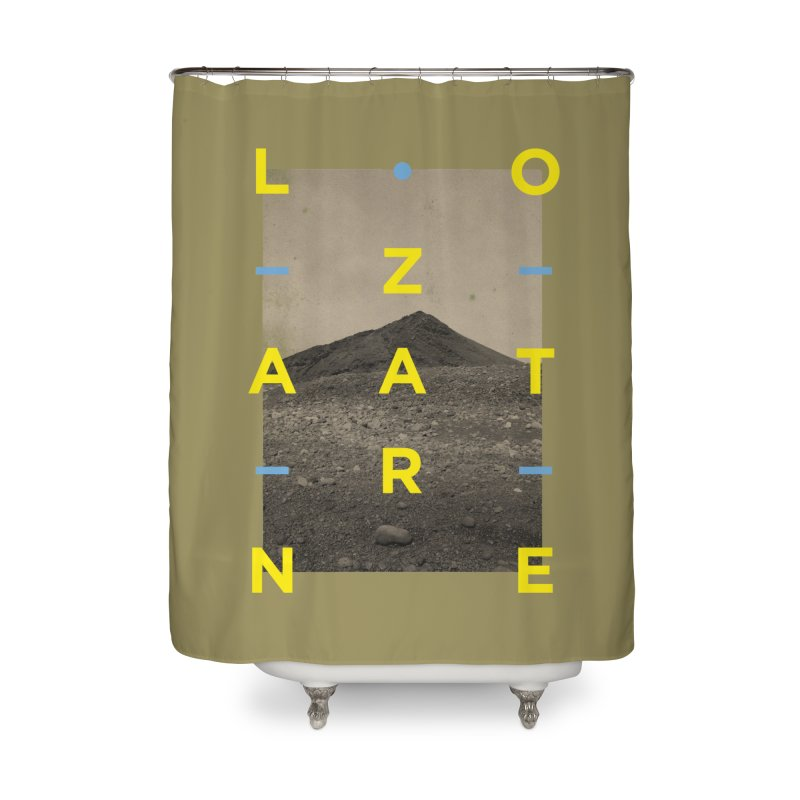 Lanzarote Canarian Island 2 Home Shower Curtain by virbia's Artist Shop