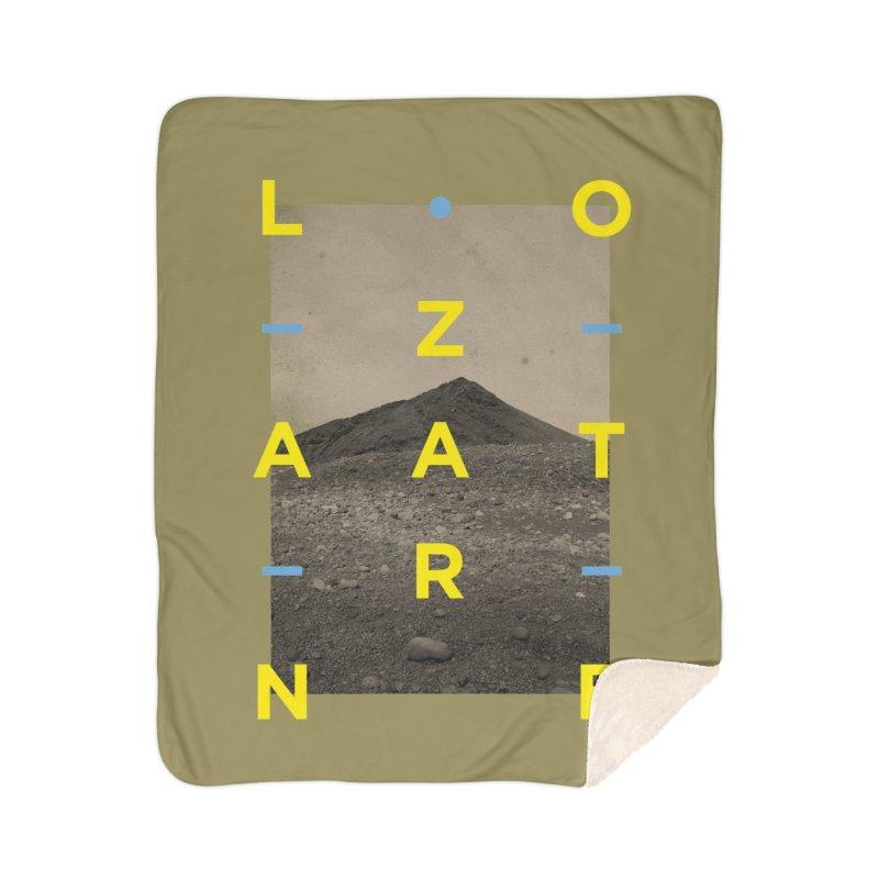 Lanzarote Canarian Island 2 Home Sherpa Blanket Blanket by virbia's Artist Shop
