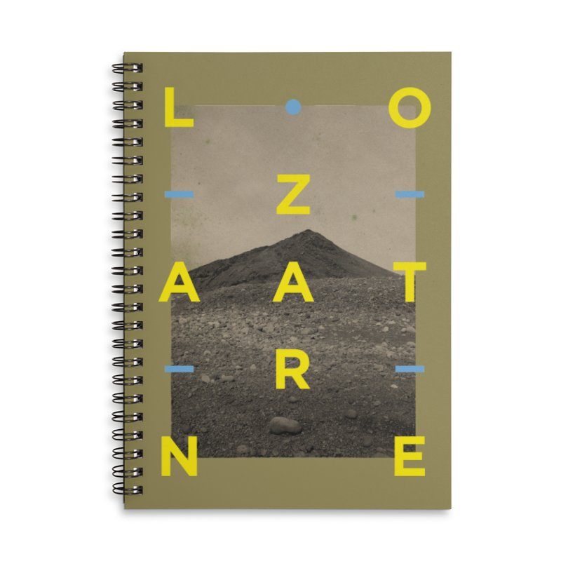 Lanzarote Canarian Island 2 Accessories Lined Spiral Notebook by virbia's Artist Shop