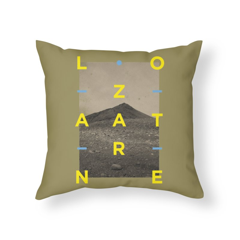 Lanzarote Canarian Island 2 Home Throw Pillow by virbia's Artist Shop