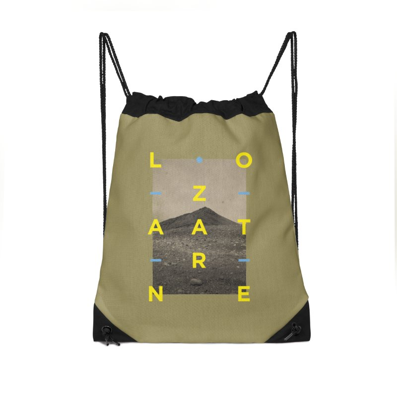 Lanzarote Canarian Island 2 Accessories Drawstring Bag Bag by virbia's Artist Shop