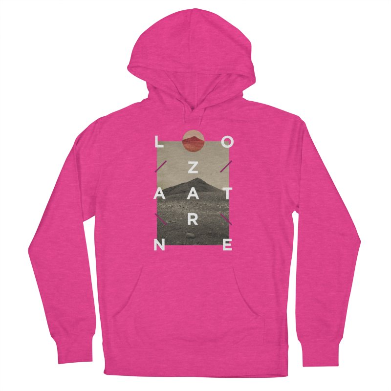 Lanzarote Canarian Island 3 Women's French Terry Pullover Hoody by virbia's Artist Shop