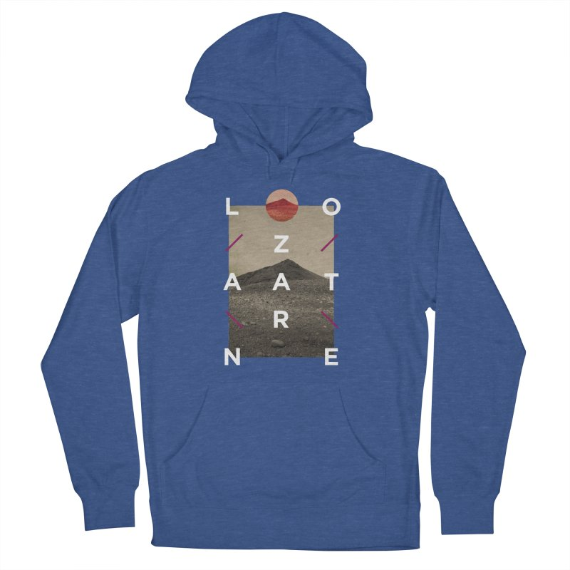 Lanzarote Canarian Island 3 Men's French Terry Pullover Hoody by virbia's Artist Shop