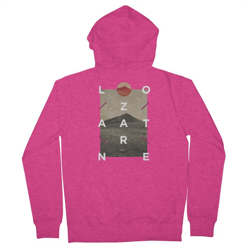 Lanzarote Canarian Island 3 Women's French Terry Zip-Up Hoody by virbia's Artist Shop