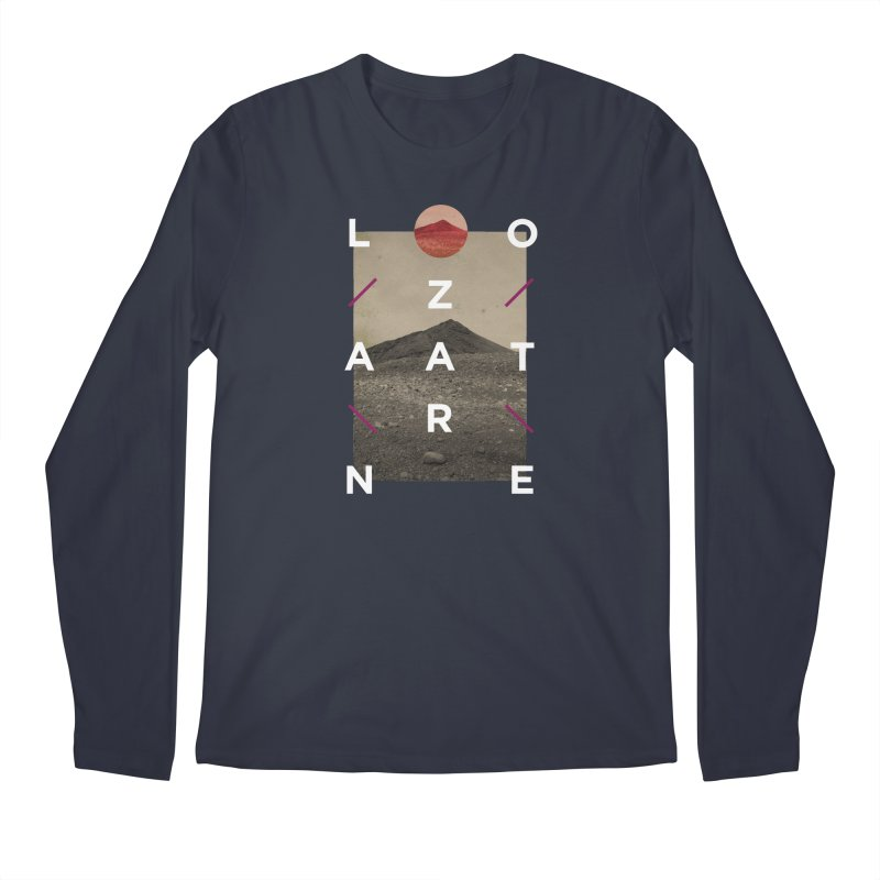 Lanzarote Canarian Island 3 Men's Regular Longsleeve T-Shirt by virbia's Artist Shop