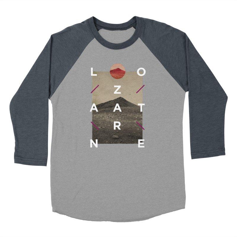 Lanzarote Canarian Island 3 Women's Baseball Triblend Longsleeve T-Shirt by virbia's Artist Shop