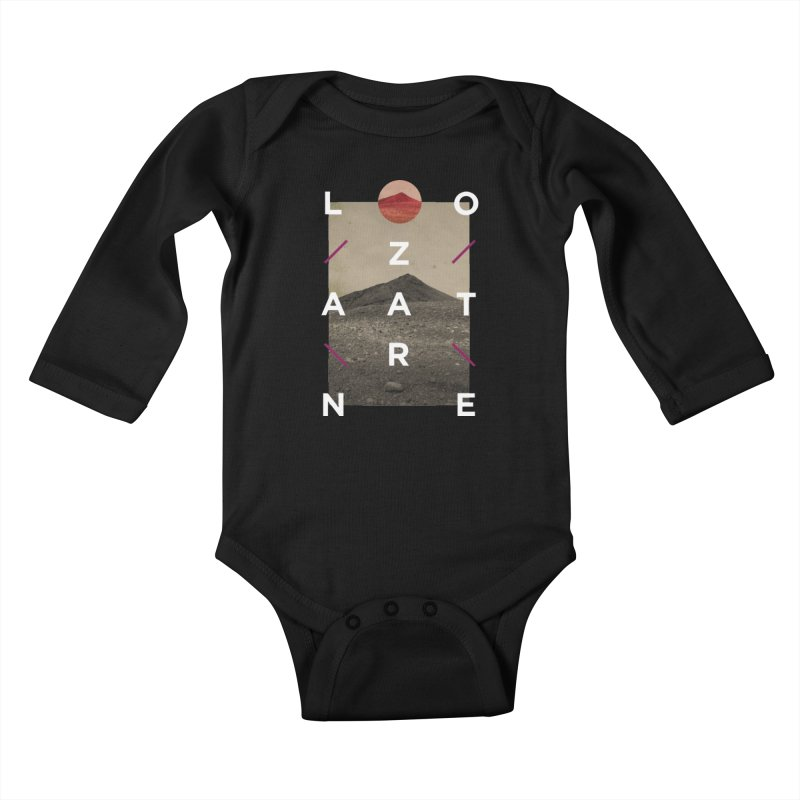 Lanzarote Canarian Island 3 Kids Baby Longsleeve Bodysuit by virbia's Artist Shop